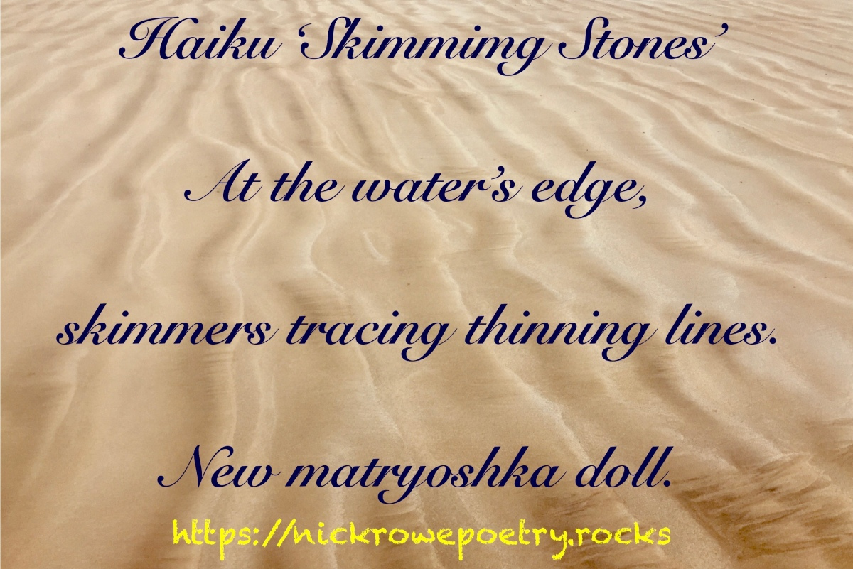 Haiku 'Skimming Stones'